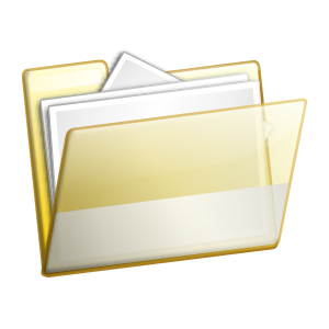 Simple_Folder_Documents_clip_art_medium